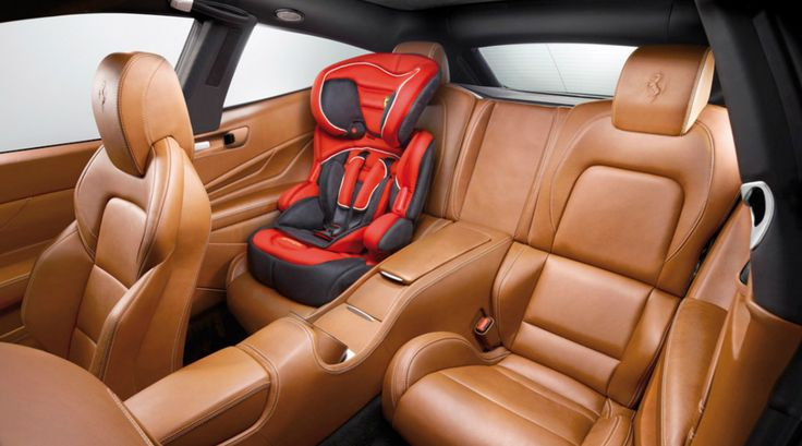 Discover Why Luxury Booster Seats Are Worth The Purchase Ferrari Infant Car Seat